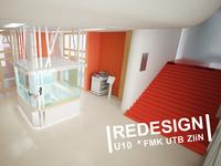 School – redesign of interior