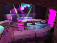 Interior design – music club