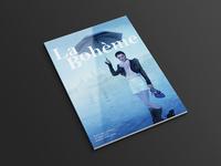 La boheme – magazine design