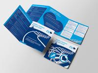 Ceske drahy – trifold brochure