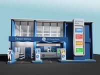 GE Money Bank – expo stand