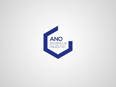 ANO – logotype typography typo geometry identity branding brand symbol design logotype