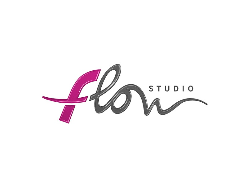 Flow – logotype branding draw identity inspiration design simple clear apps studio game