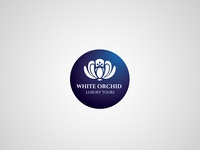White orchid – logotype