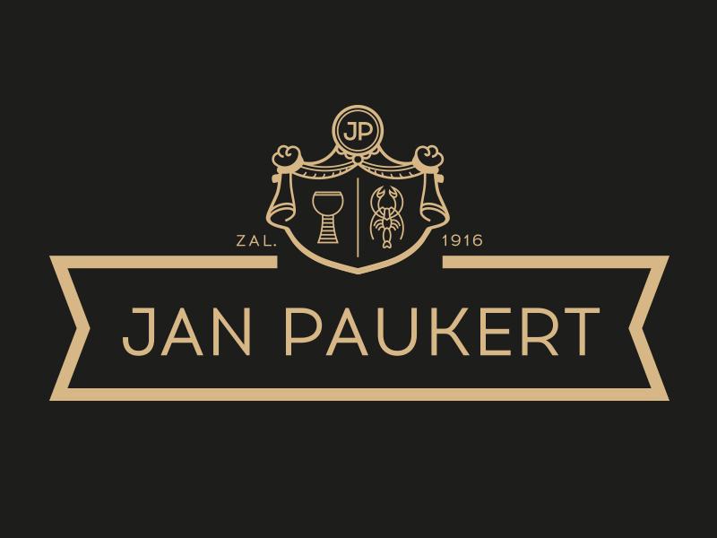 Jan Paukert – rebranding logotype typo montage dessert food branding design