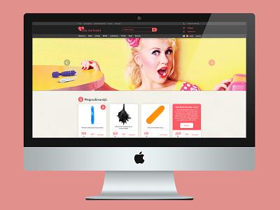 Cas na hrani – sex eshop html responsive ui web website erotic commerce eshop shop sex