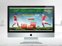 Mcd cup web fin