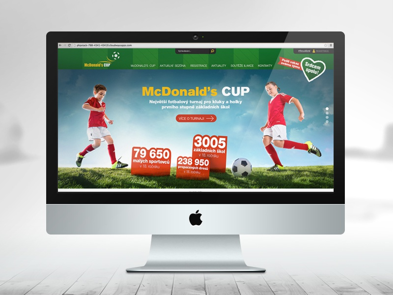 McDonald's CUP - website cup mcdonalds design graphic website