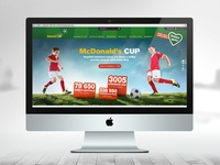 McDonald's CUP - website