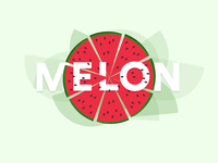 Melon Illustration