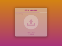 DailyUI #031 - File Upload