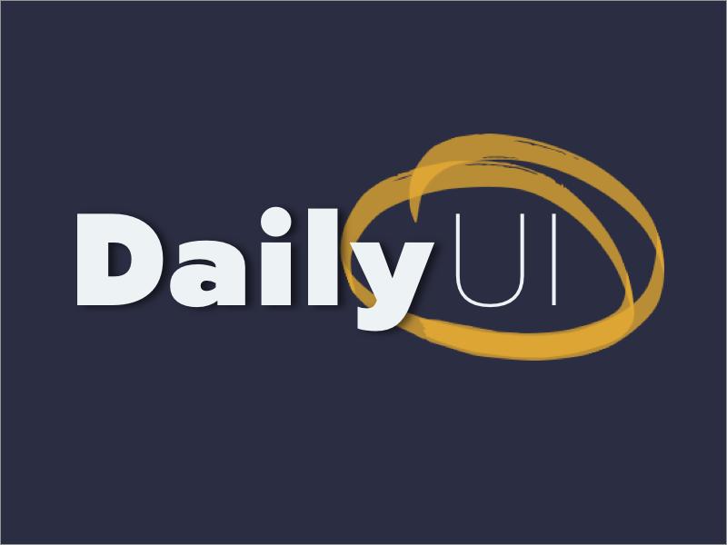DailyUI Challenge #052 - DailyUI Logo logo dailyui 52 dailyui052