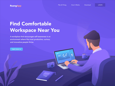 Landing Page - Workspaces Near You