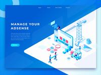 Digital Marketing Header Animation