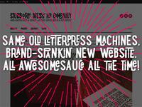 Heck yeah, new website!