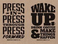 Stubborn Press & Company Posters