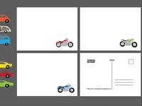 Vehicle-themed Stationery