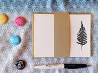 Fern Letterpress Note Cards
