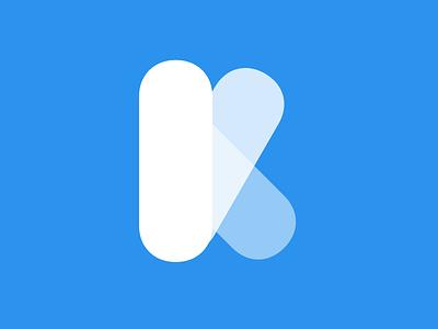 kyra.app logo opacity logo simple k