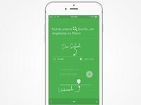 Onboarding iOS App