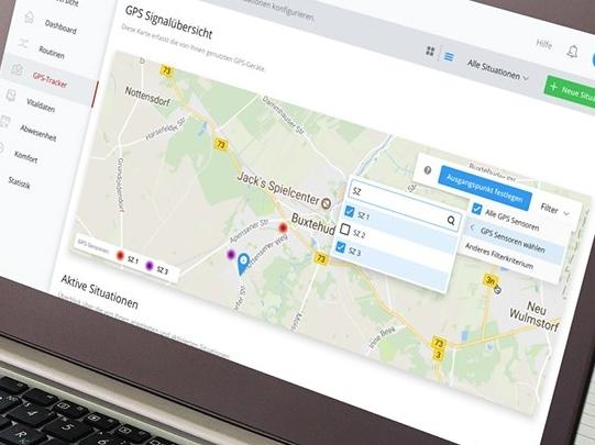 map & gps tracker