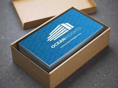 Business Card Design (2019's reBrand) ocean pattern design pattern design