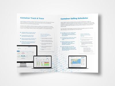 Brochure Design (2019's reBrand) ocean design brochure design brochure