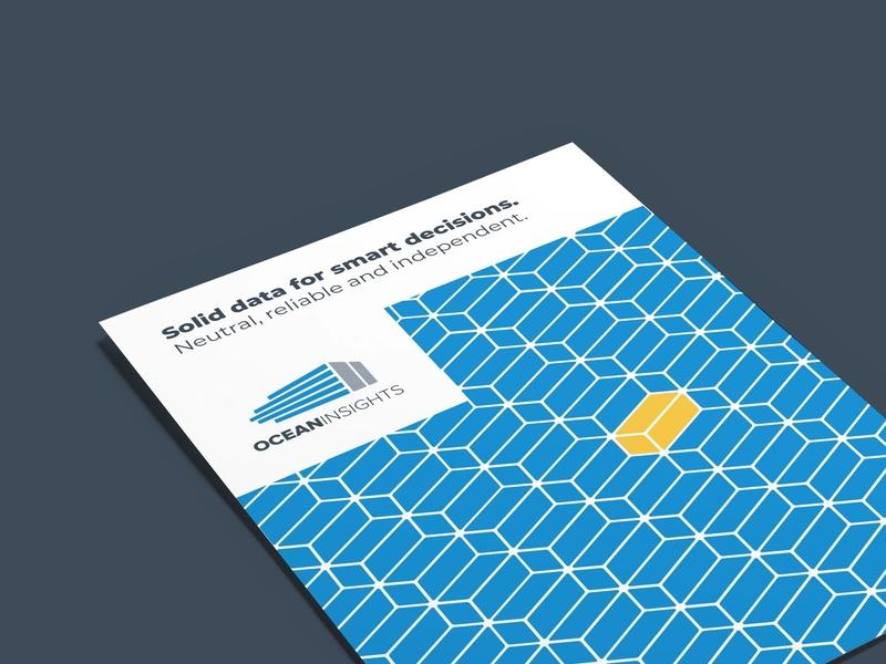 Brochure Design (2019's reBrand) ocean redesign brochure mockup brochure design