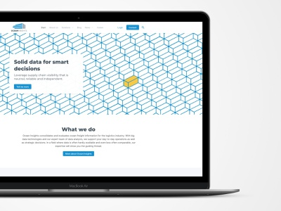 Website Design (2019's reBrand) ocean redesign rebrand website webdesign
