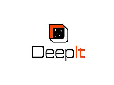 DeepIt orange black tecnology starship deep