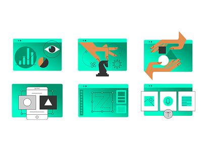 Process Design Icons