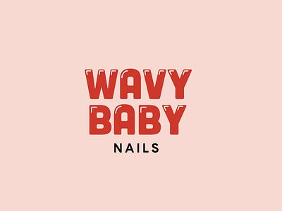 Wavy Baby nails logo