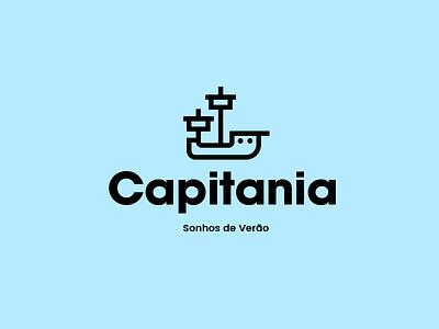Capitania Swimwear Logo ship boat