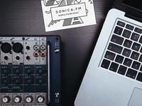 Sonica FM Branding