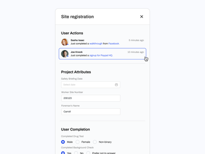 Extra Slide Out Menu data visualization e-commerce ux web application application app concept expandable minimal menu extra menu slide out menu slide out navigation slide user interface web dashboard