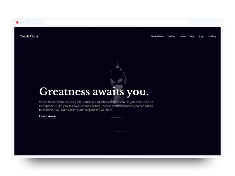 Coaching Website Portfolio? 🤔 personal development portfolio coaching