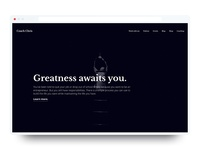 Coaching Website Portfolio? 🤔