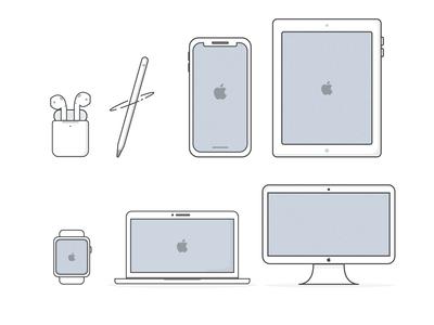 Apple Store Illustrations