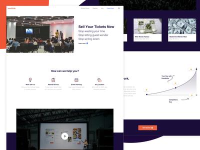 Eventbrite Ticketing Landing Page Design