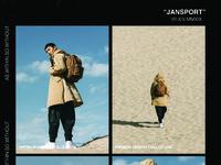 Jansport premium desert collection