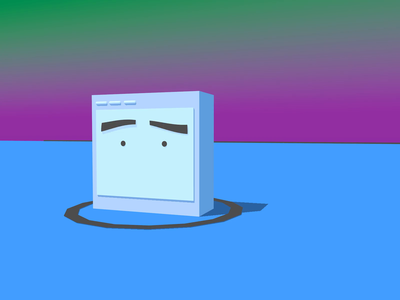 4D Wiggle Face kawaii cinema 4d