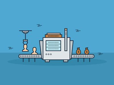 Machine Ilustration