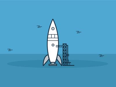 Rocket Ilustration