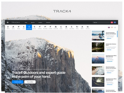 Track - Expert guide in the palm of your hand