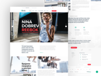 iFit Fitness Web Design
