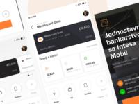 Banca Intesa App Concept - Zivot cini jednostavnim