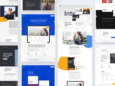 Design Agency - UI/UX Project corporative webdesign interface casestudy landing digital agency portfolio uxui design