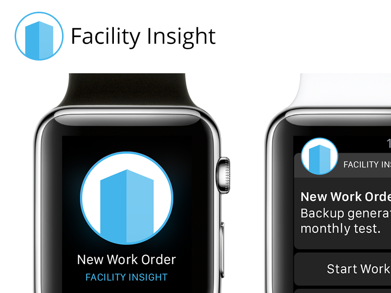 Facility Insight for ᴡᴀᴛᴄʜ  apple watch app