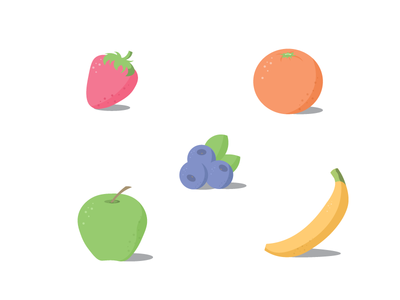 Fruit Flat Dribble 01
