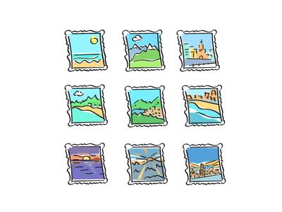Postcards Summer Memories